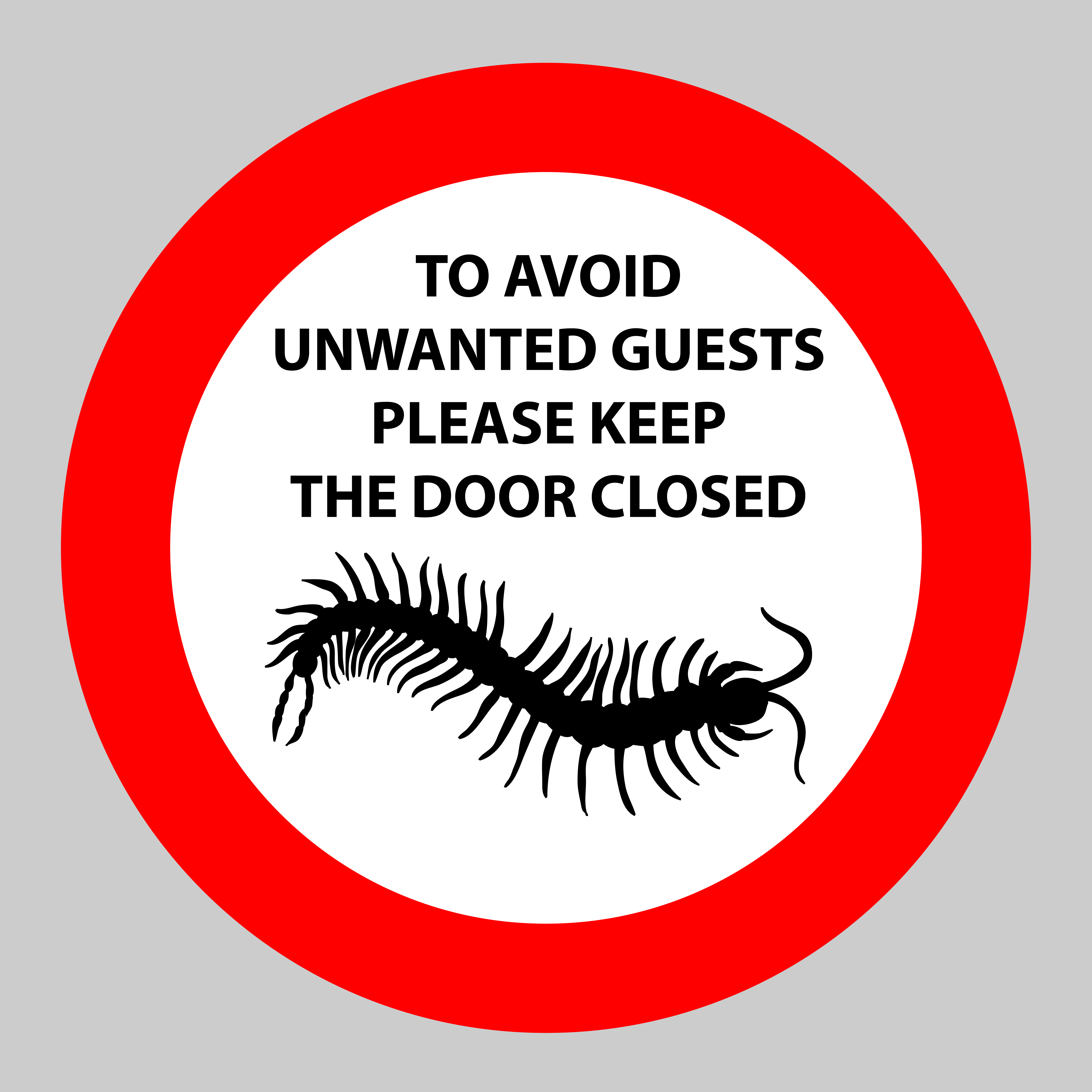 unwanted guests in your home